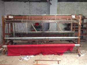 Productie MijnIque cashmere sjaals