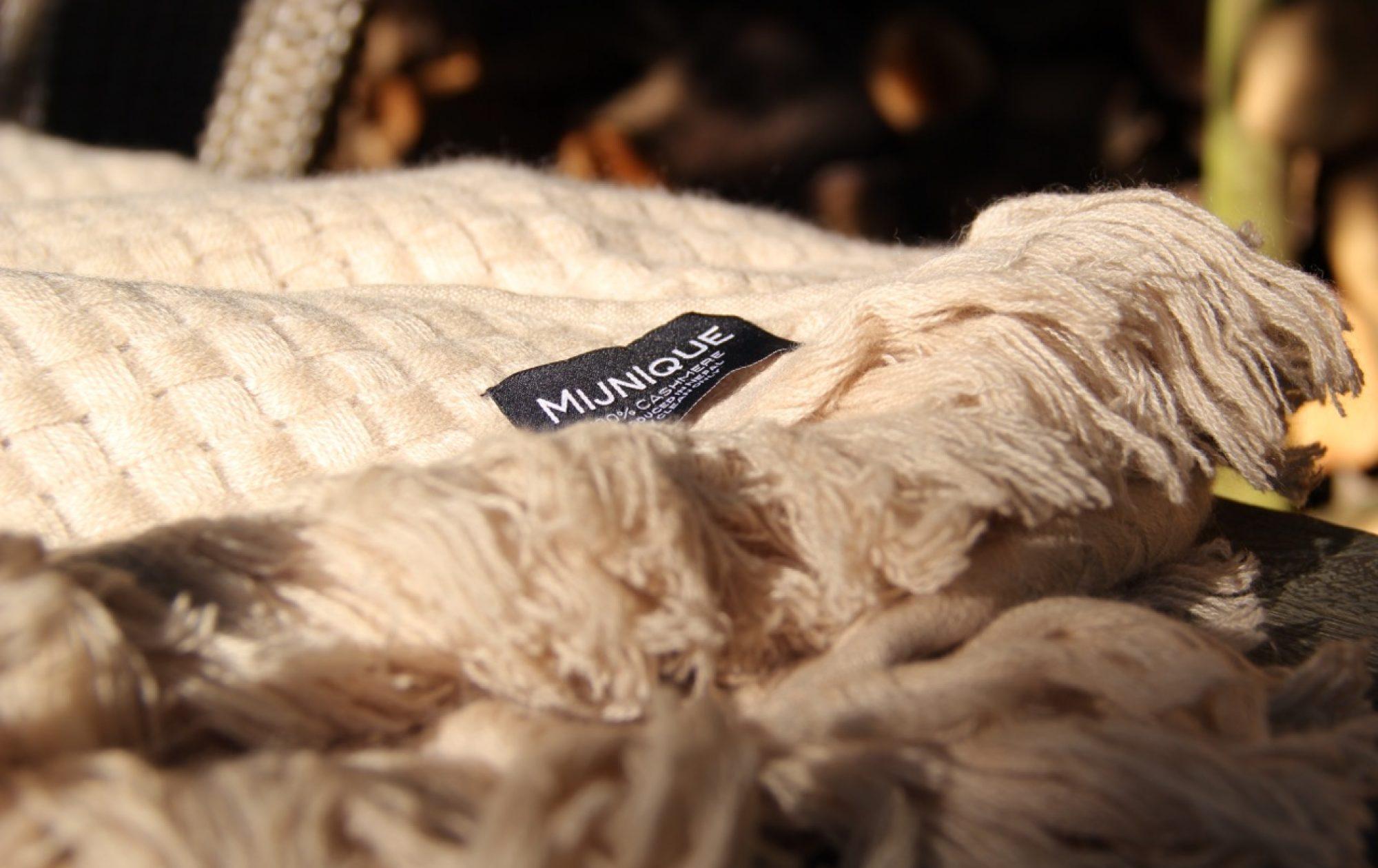 Mijnique cashmere kasjmier sjaals